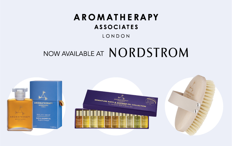 Aromatherapy Associates is now available at Nordstrom