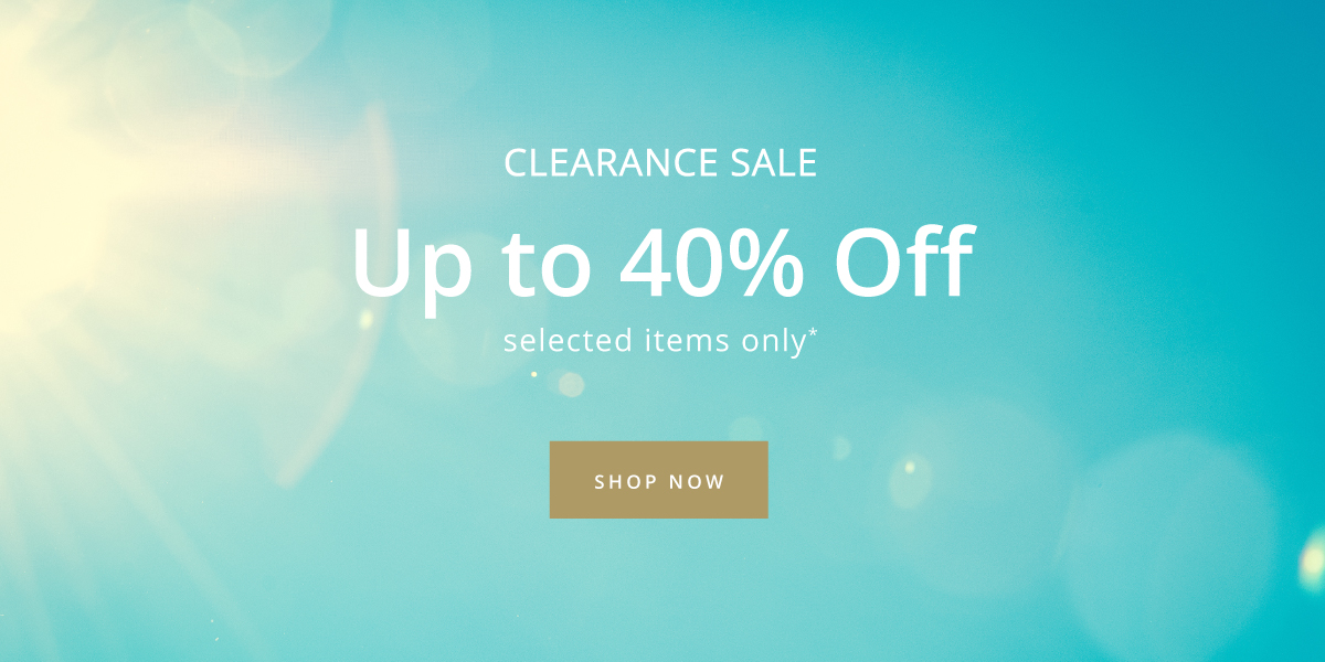 Save 20%-40% in the clearance sale.
