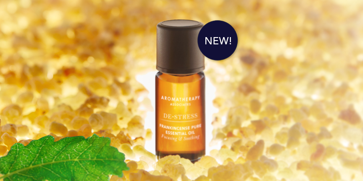 New! Ethically sourced De-Stress Frankincense Pure Essential Oil