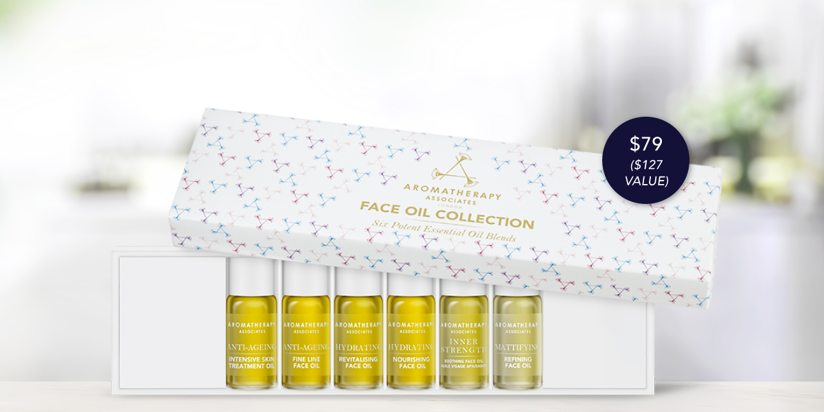 NEW! Face Oil Collection
