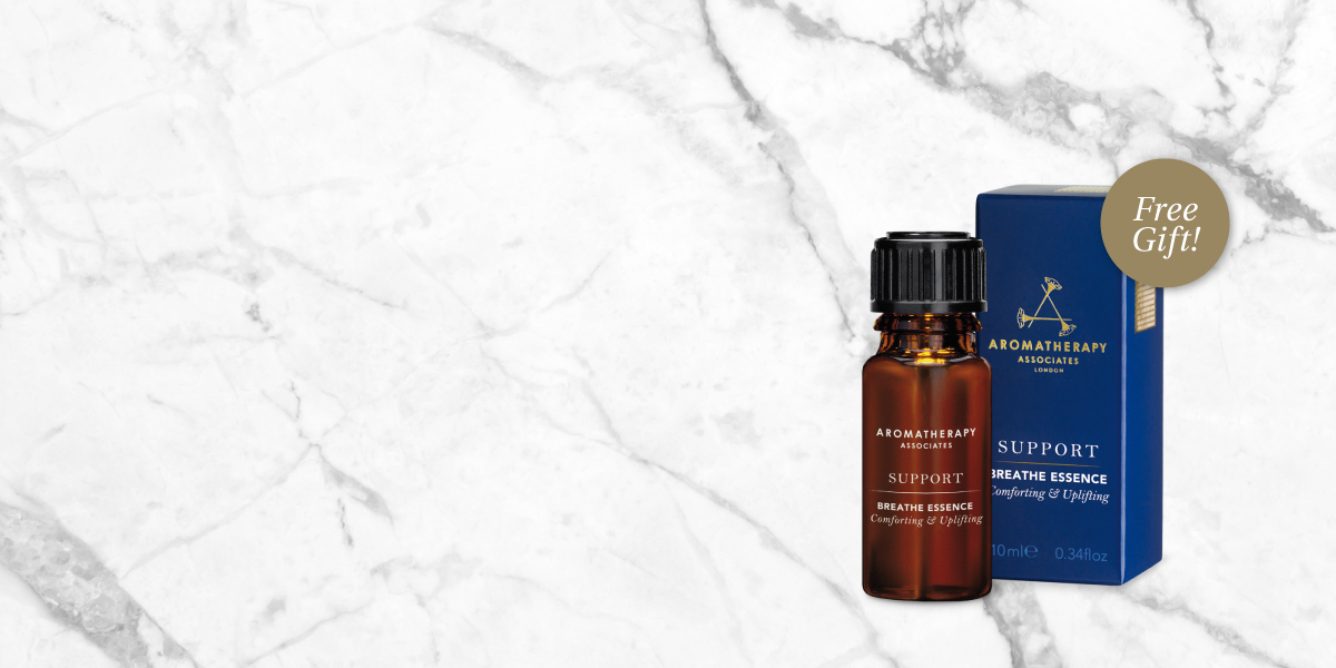 Free Support Breathe Essence with your $99 purchase!