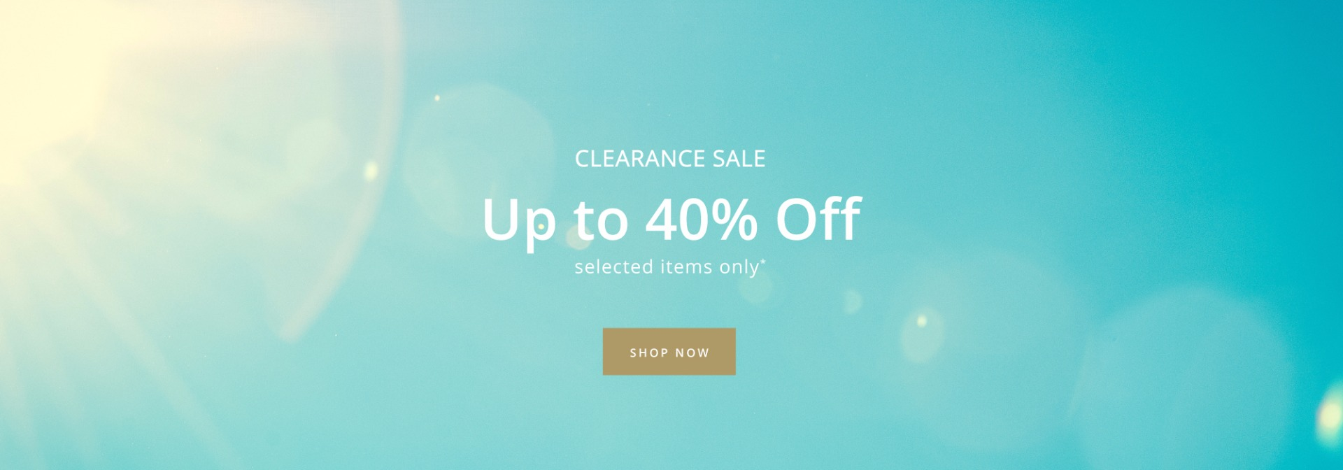 Shop 20%-40% off in the summer clearance sale